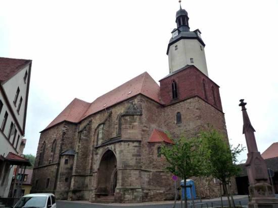 Kirche St. Georg Mansfeld (außen)