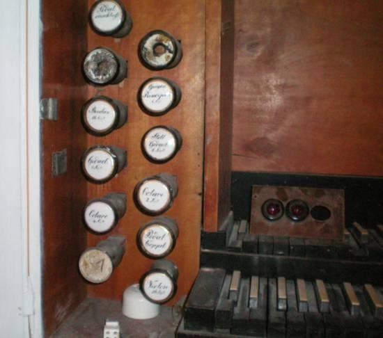 Maurer-Orgel Breitungen (Detail)
