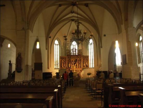 St. Andreas in Eisleben (innen)