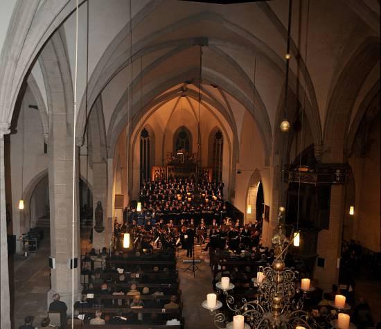 Kirche St. Andreas Eisleben (innen)