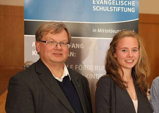 Schulstiftung Auszeichnung Sup. Berger
