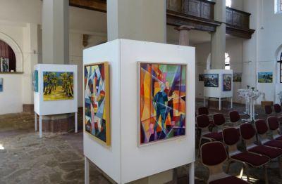 Ausstellung Kirche Bennungen