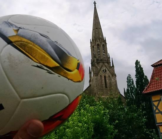 Glaube und Fußball