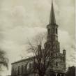 Neue Kirche Donndorf, alte Postkarte