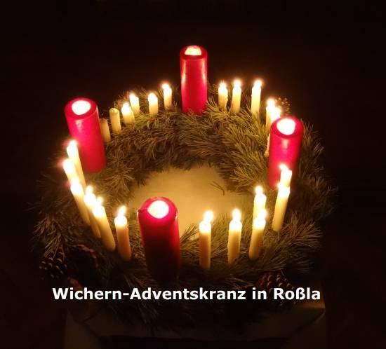 Der Adventskranz von Wichern