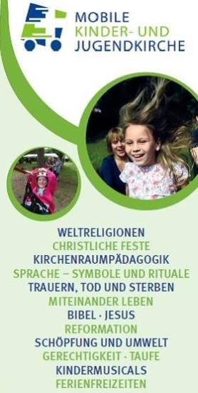 Mobile Kinder- und Jugendkirche Aufgaben