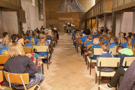 Taufprojekt Grundschule Hettstedt