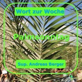 Wort zum Palmsonntag