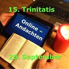 Online-Andachten 20. September