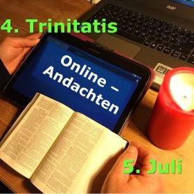 Online-Gottesdienste 4. Trinitatis