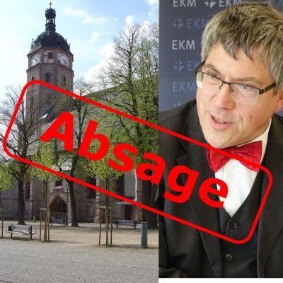 Bischof Kramer in Sangerhausen