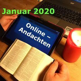 Online-Andachten im Januar