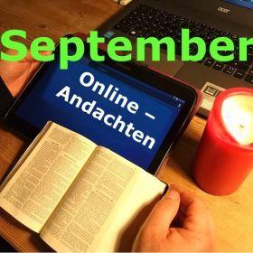 Online-Andachten September