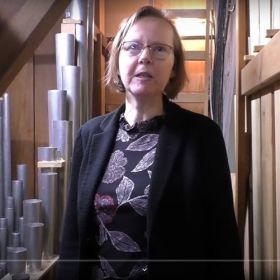 Orgel-Vorstellung mit KMD Martina Pohl